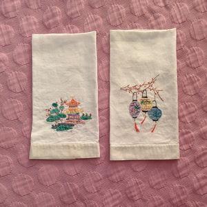 Vintage Japanese Tea Towels